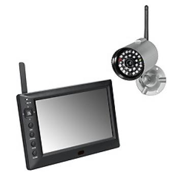 funk berwachungskamera mit monitor videospeicher df270 set. Black Bedroom Furniture Sets. Home Design Ideas